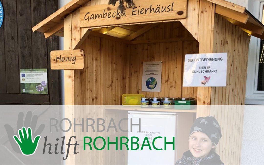 Gambecka Eierhäusl – Steht für Euch bereit