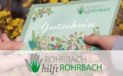 Jetzt Gutschein kaufen und Rohrbachs Handelsvielfalt erhalten!