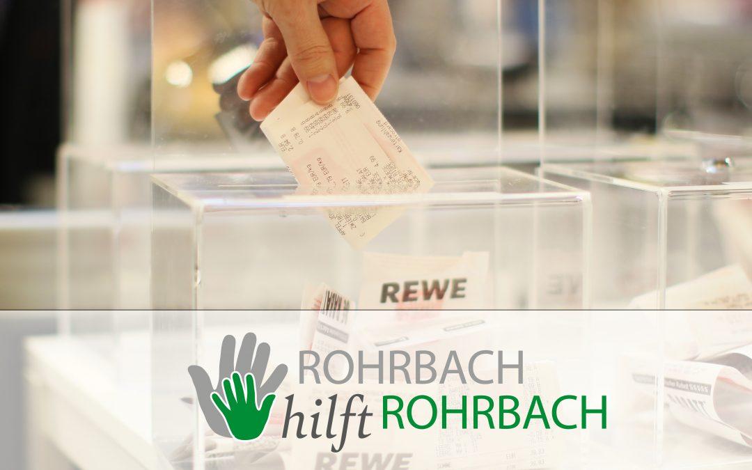 REWE Wieselhuber macht sich für die Rohrbacher Vereine stark