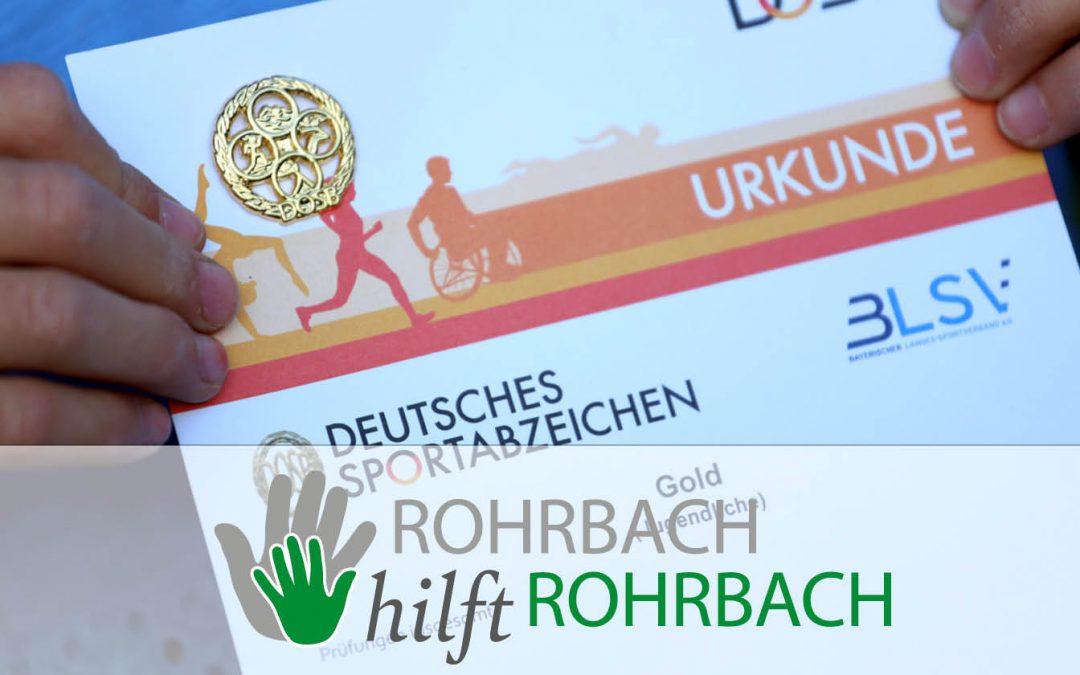 Endlich wieder gemeinsam sporteln – TSV-Training für das Deutsche Sportabzeichen