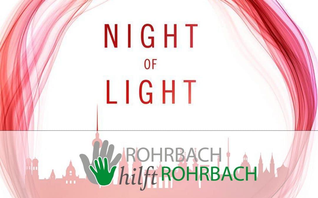 """Night of Light"" in Rohrbach"
