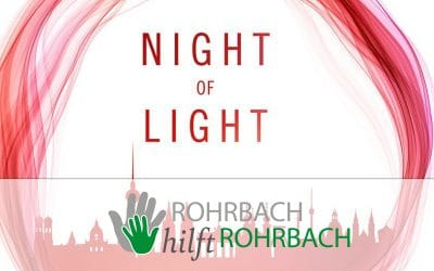 """Night of Light"" in Rohrbach"