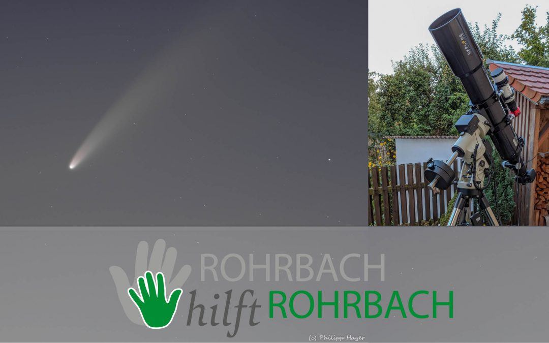 Philipp Hayer fotografiert ferne Welten – Komet NEOWISE über Rohrbach