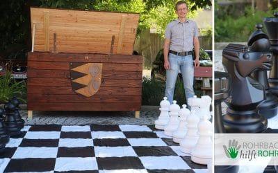 Lust auf Riesen-Schach? Dann ab zum Rathausplatz!