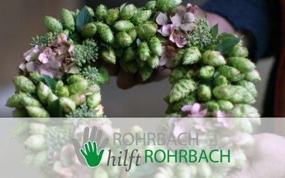 Herbst-Schätze aus Rohrbach: Last-Minute-Hopfenkränze