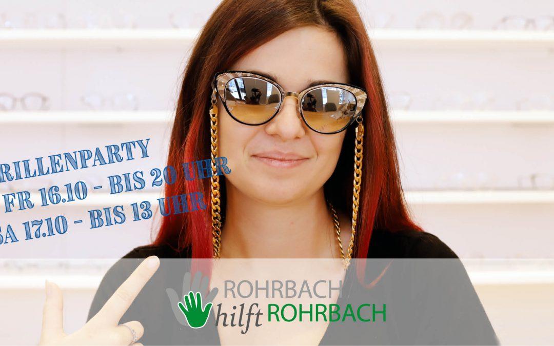 Fr & Sa einfach mal drauf los probieren – Brillenparty bei Sehenswert Augenoptik