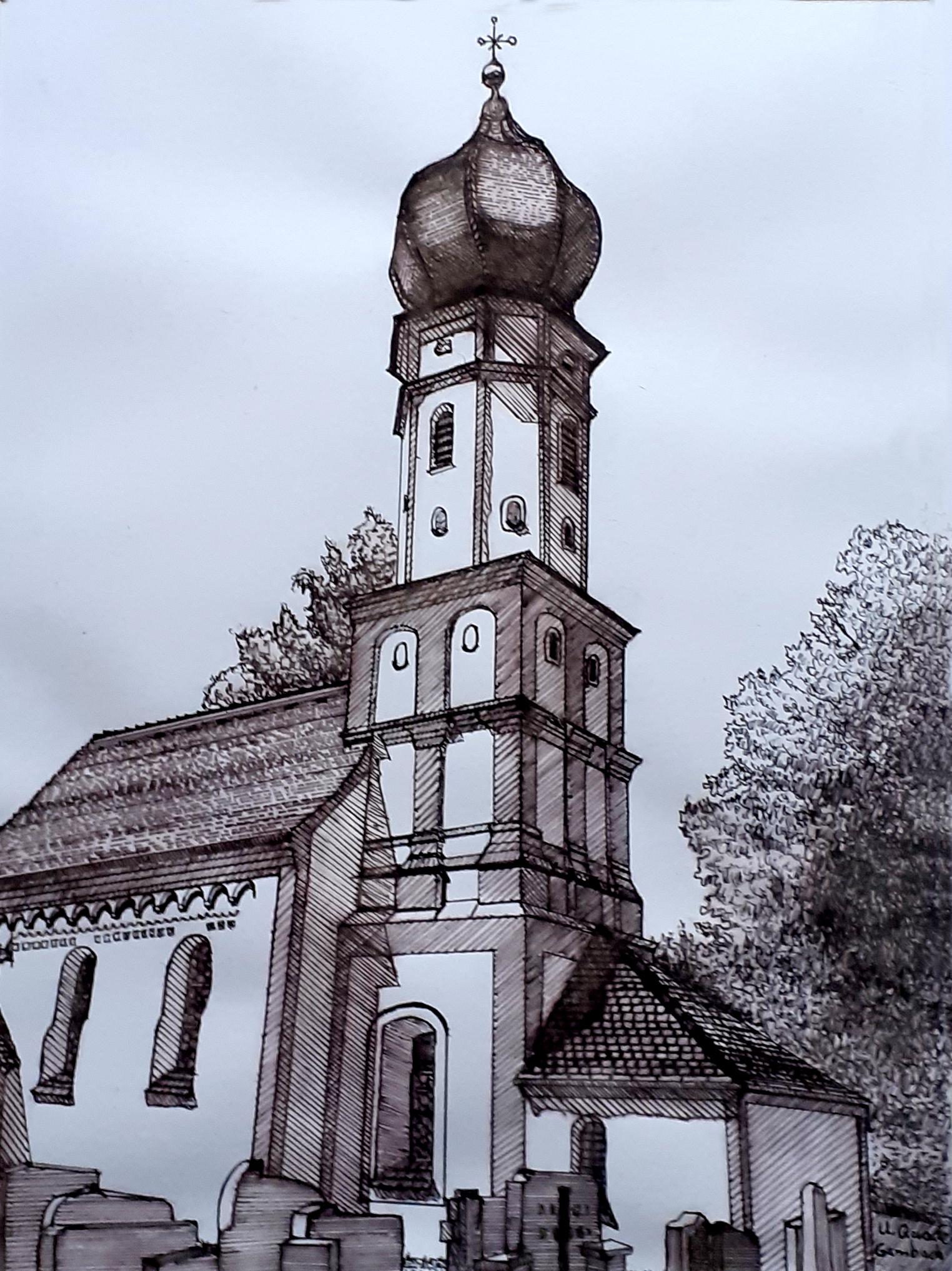 Kirche in Gambach