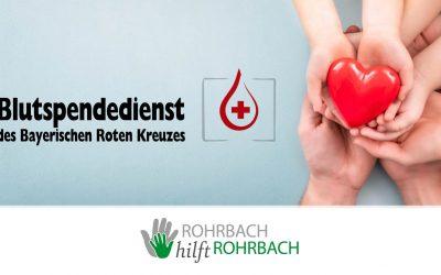 Blutspende-Aktion am Do, 26.11.2020: Wer dabei sein will, muss sich zwingend Online anmelden!