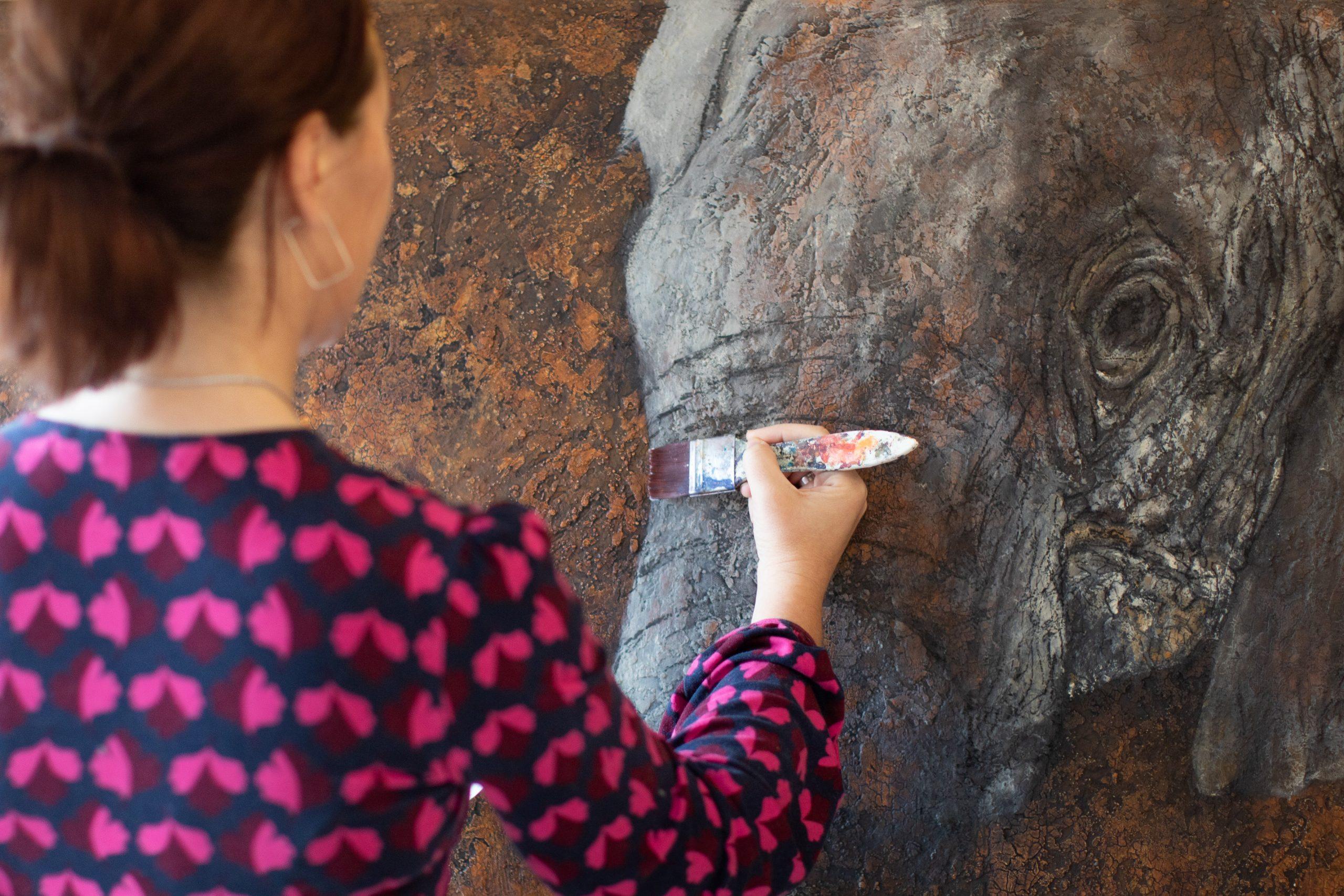 Silvia Schlesier Elefant