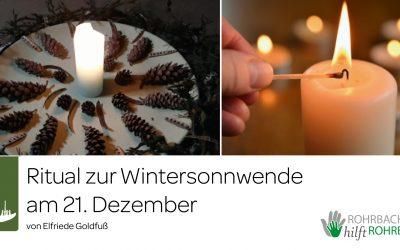Ritual zur Wintersonnwende von Elfriede Goldfuß