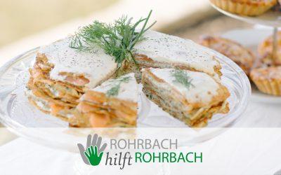 Annas Rezepttipp für den Osterbrunch: Lachs-Crêpes-Torte