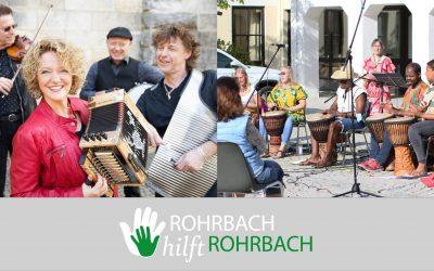 Gemeinsam Livemusik genießen – ab Sonntag starten die Sommerkonzerte in Rohrbach