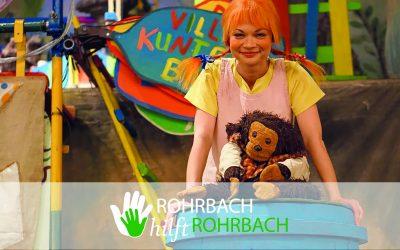 Pippi Langstrumpf kommt nach Rohrbach